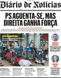 capa Diário de Notícias de 19 julho 2021