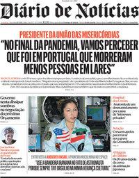 capa Diário de Notícias de 20 julho 2021