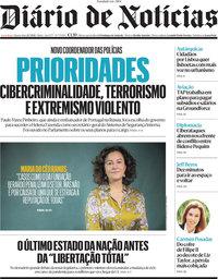 capa Diário de Notícias de 21 julho 2021