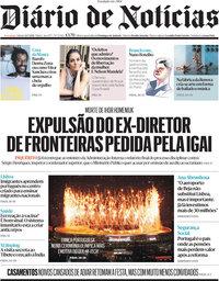 capa Diário de Notícias de 24 julho 2021