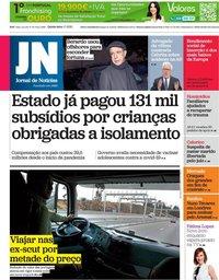 capa Jornal de Notícias de 1 julho 2021