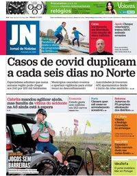 capa Jornal de Notícias de 3 julho 2021