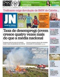 capa Jornal de Notícias de 5 julho 2021