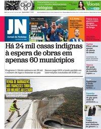 capa Jornal de Notícias de 7 julho 2021