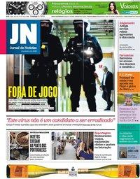 capa Jornal de Notícias de 11 julho 2021