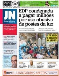 capa Jornal de Notícias de 19 julho 2021