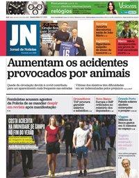capa Jornal de Notícias de 21 julho 2021