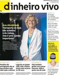 capa Jornal Dinheiro Vivo