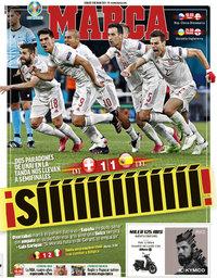 capa Jornal Marca de 3 julho 2021