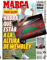 capa Jornal Marca de 5 julho 2021
