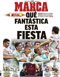 capa Jornal Marca de 6 julho 2021