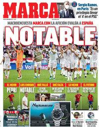 capa Jornal Marca de 8 julho 2021
