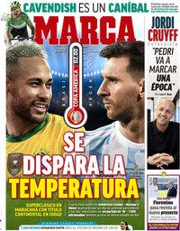 capa Jornal Marca de 10 julho 2021
