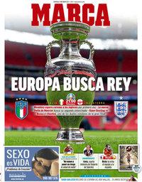 capa Jornal Marca de 11 julho 2021