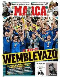 capa Jornal Marca de 12 julho 2021