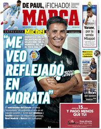 capa Jornal Marca de 13 julho 2021