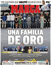capa Jornal Marca de 14 julho 2021