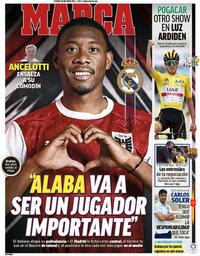 capa Jornal Marca de 16 julho 2021