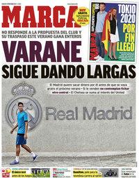 capa Jornal Marca de 17 julho 2021