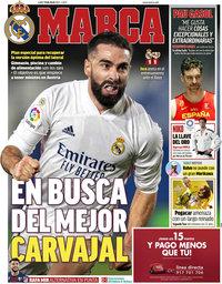 capa Jornal Marca de 19 julho 2021