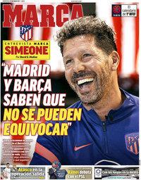 capa Jornal Marca de 21 julho 2021