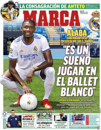 capa Jornal Marca de 22 julho 2021
