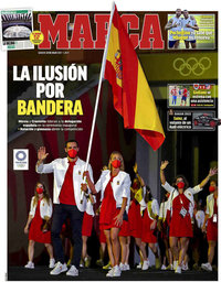 capa Jornal Marca de 24 julho 2021