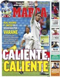 capa Jornal Marca de 26 julho 2021