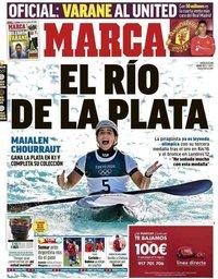 capa Jornal Marca de 28 julho 2021