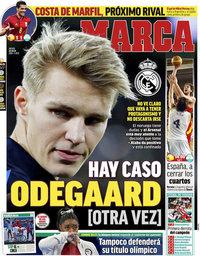 capa Jornal Marca de 29 julho 2021