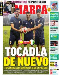 capa Jornal Marca de 31 julho 2021