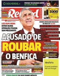 capa Jornal Record de 8 julho 2021