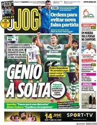 capa Jornal O Jogo de 7 agosto 2021