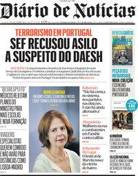 capa Diário de Notícias de 3 setembro 2021