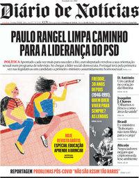 capa Diário de Notícias de 5 setembro 2021
