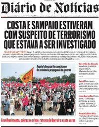 capa Diário de Notícias de 6 setembro 2021