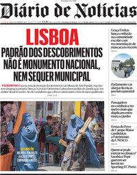 capa Diário de Notícias de 9 setembro 2021