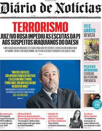 capa Diário de Notícias de 10 setembro 2021