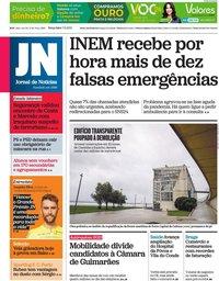 capa Jornal de Notícias de 7 setembro 2021