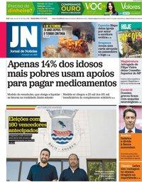 capa Jornal de Notícias de 10 setembro 2021