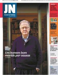 capa Jornal de Notícias de 11 setembro 2021