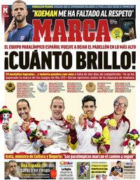 capa Jornal Marca de 4 setembro 2021