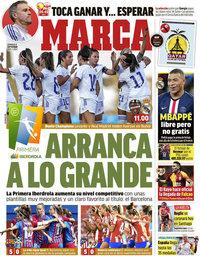 capa Jornal Marca de 5 setembro 2021