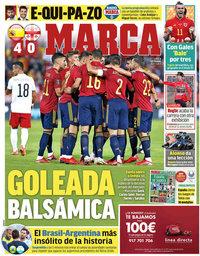 capa Jornal Marca de 6 setembro 2021
