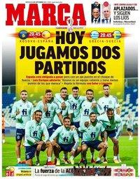 capa Jornal Marca de 8 setembro 2021