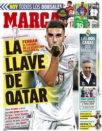 capa Jornal Marca de 10 setembro 2021