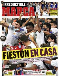 capa Jornal Marca de 13 setembro 2021