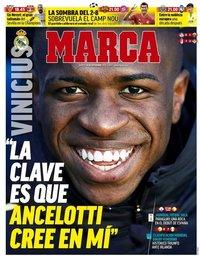 capa Jornal Marca de 14 setembro 2021