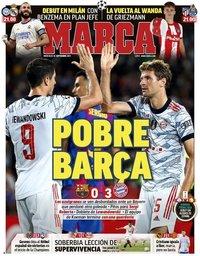 capa Jornal Marca de 15 setembro 2021
