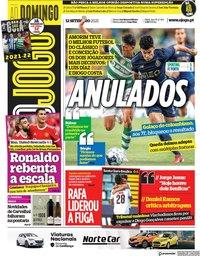 capa Jornal O Jogo de 12 setembro 2021